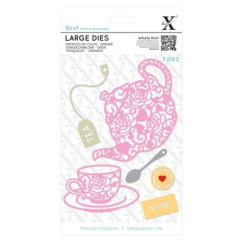 Large Dies (7pcs) - Filigree Tea Time