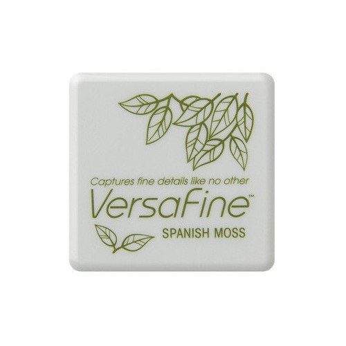 Versafine ink pads small Spanish Moss