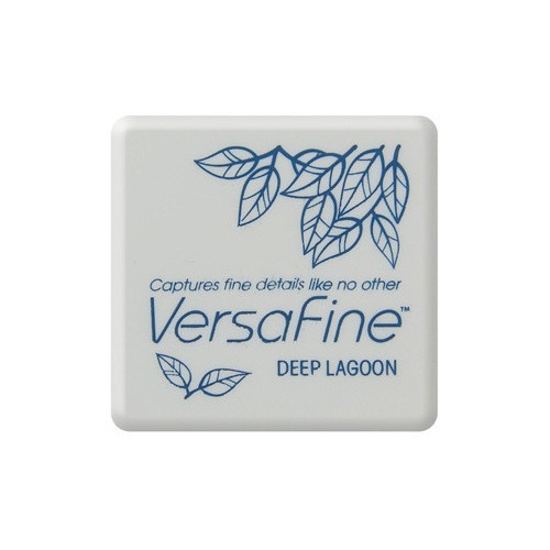Versafine ink pads small Deep lagoon