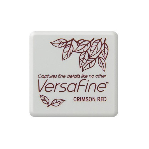 Versafine ink pads small Crimson Red