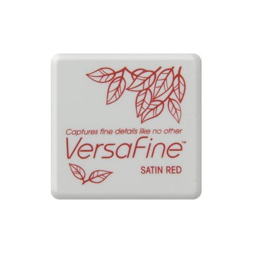 Versafine ink pads small Satin Red