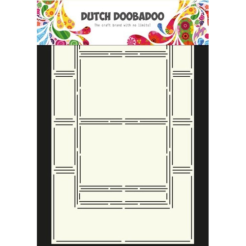 Dutch Doobadoo Dutch Card Art Stencil swing kaart 6  A4 470.713.308