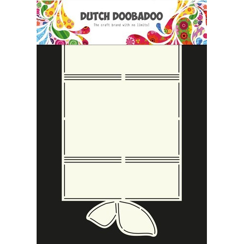 Dutch Doobadoo Dutch Card Art Stencil 3-luik vlinder  A4 470.713.598