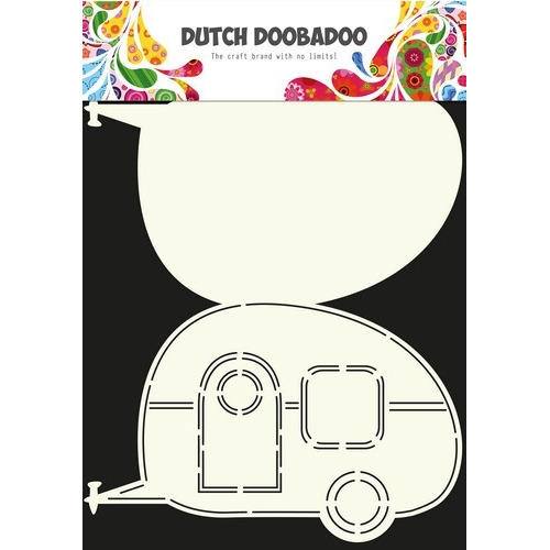 Dutch Doobadoo Dutch Card Art Stencil caravan  A4 470.713.601