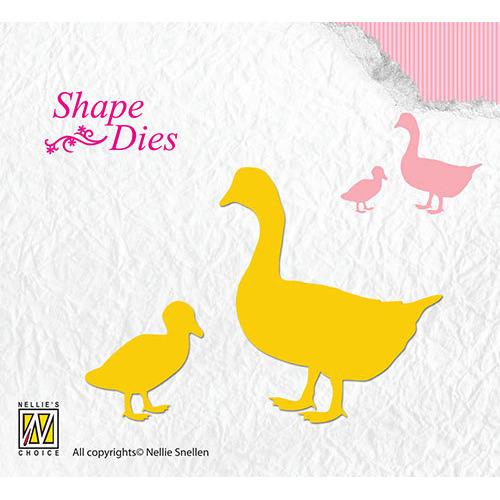 Shape Dies - Geese