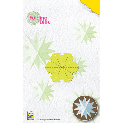Folding Dies Christmas ball Star mini