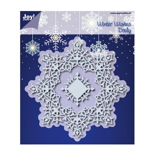 6002/0536 - Cutting & Embossing - Winter Wishes Doilie