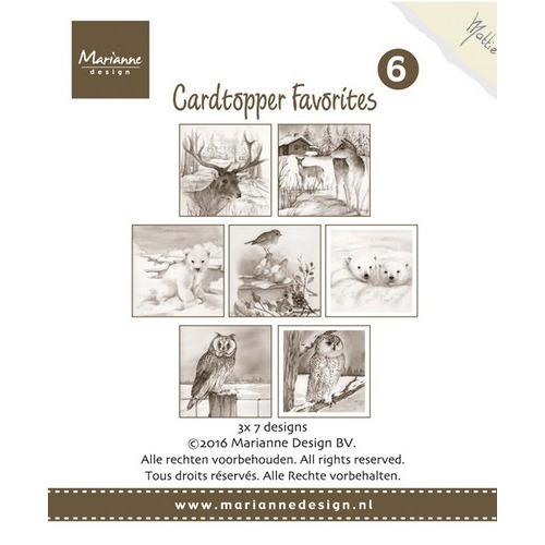 Marianne D Card Toppers Favorites - Mattie 2 CT1506 (new 07-16)