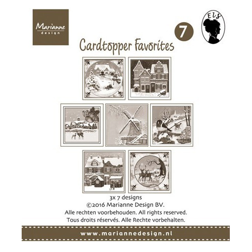 Marianne D Card Toppers Favorites - Els 2 CT1507 (new 07-16)