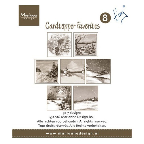 Marianne D Card Toppers Favorites - Tiny 2 CT1507 (new 07-16)