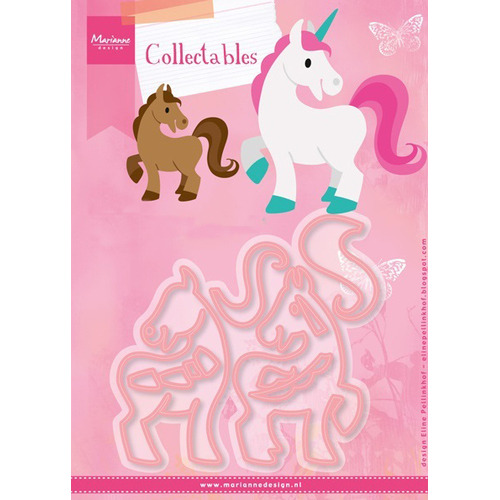 Marianne D Collectable Eline`s Paard & Eenhoorn COL1408 (New 07-16)