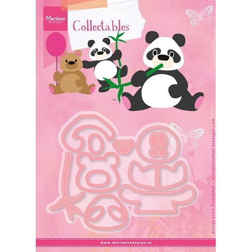 Marianne D Collectable Eline`s Panda & Beer COL1409 (New 07-16)