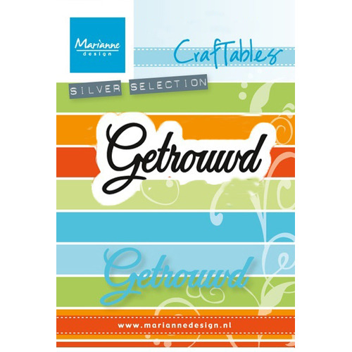 Marianne D Craftable Getrouwd (NL) CR1372 (New 07-16)