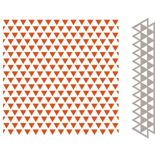 Marianne D Embossing folder & Die - Driehoeken DF3428 (New 07-16)