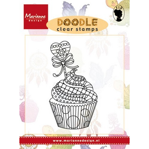 Marianne D Stempel Doodle - Cupcake EWS2219 (New 07-16)