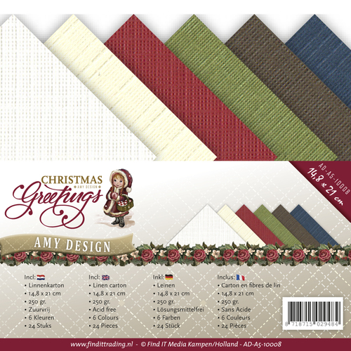 Linnenpakket - A5 - Amy Design - Christmas Greetings