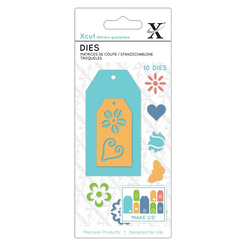 Small Dies (11pcs) Floral Gift Tags