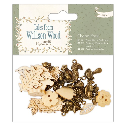 Charm Pack (32pcs) - Tales from Willson Wood