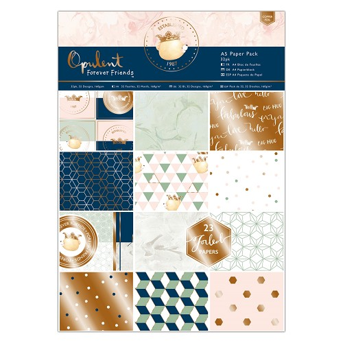 A5 Paper Pack (32pk) - Forever Friends - Opulent