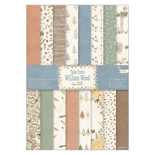 A5 Paper Pack (32pk) - Tales from Willson Wood