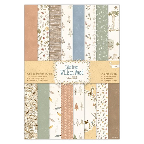 A4 Paper Pack (32pk) - Tales from Willson Wood