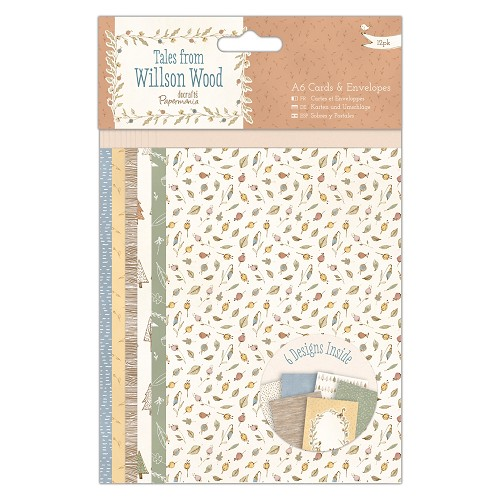A6 Cards & Envelopes (12pk) - Tales from Willson Wood