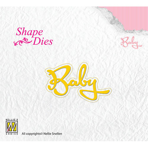 Shape Dies Text Baby
