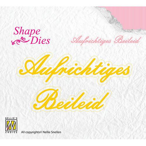 Shape Dies - Aufrichtiges Beileid