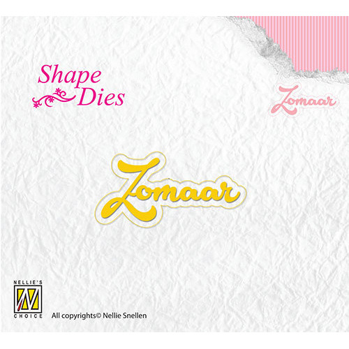 Shape Dies - Zomaar