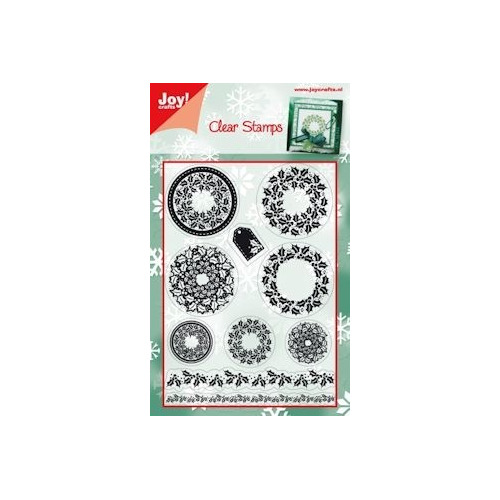 HJ136 Joy crafts Clear stamps 6410-0110