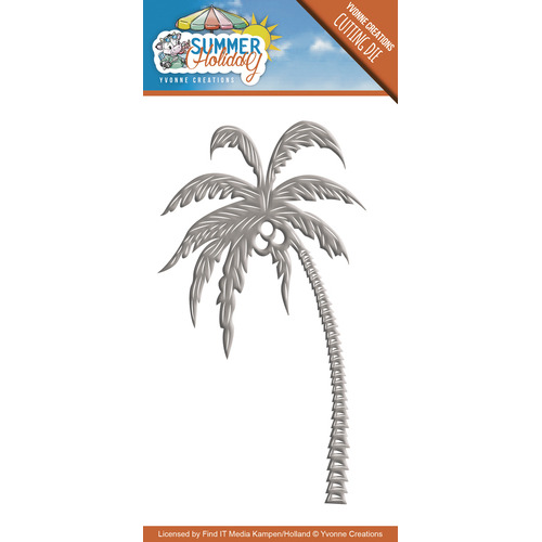 Die - Yvonne Creations - Summer Holiday - Palm Tree