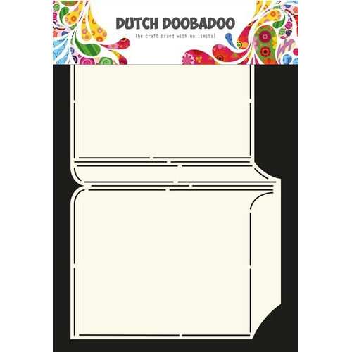 Dutch Doobadoo Dutch Card Art Stencil Boek  A4 470.713.599 (07-16)