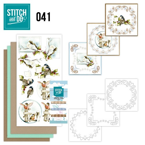 Stitch and Do 41 - Kerstvogeltjes