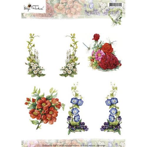 3D Knipvel - Helga Martare - Bloemen