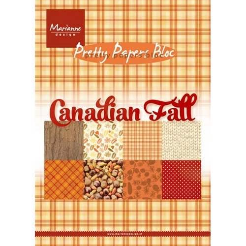Marianne D Paper pad Canadian Fall PK9138 (08-16)