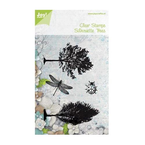 6410/0430 - Algemeen - Bomen, lieveheersbeestje en libelle