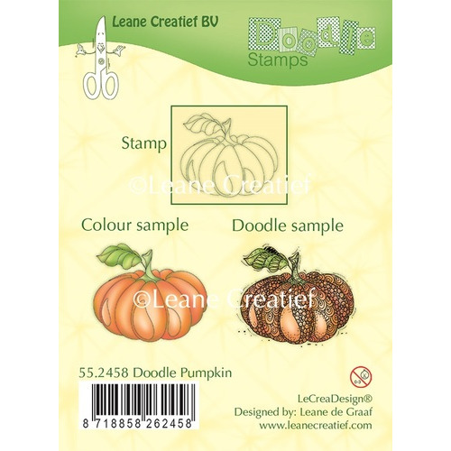 Doodle clear stamp Pumpkin