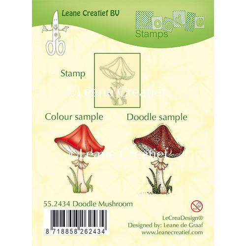 Doodle clear stamp Mushroom