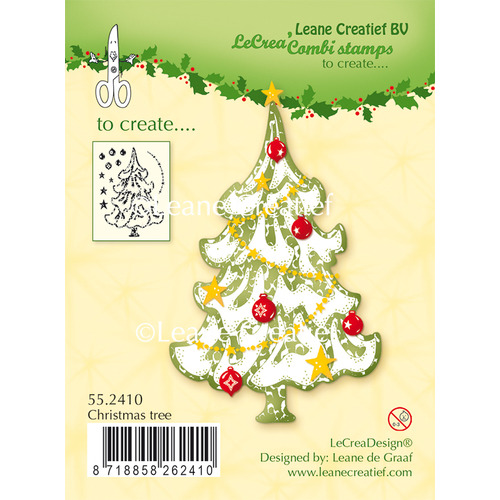Clear stamp Christmas Tree