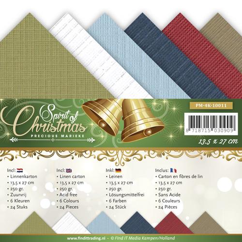 Linnenpakket - 4K - Precious Marieke - Spirit of Christmas