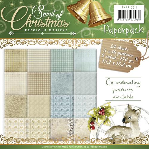 Paperpack - Precious Marieke - Spirit of Christmas