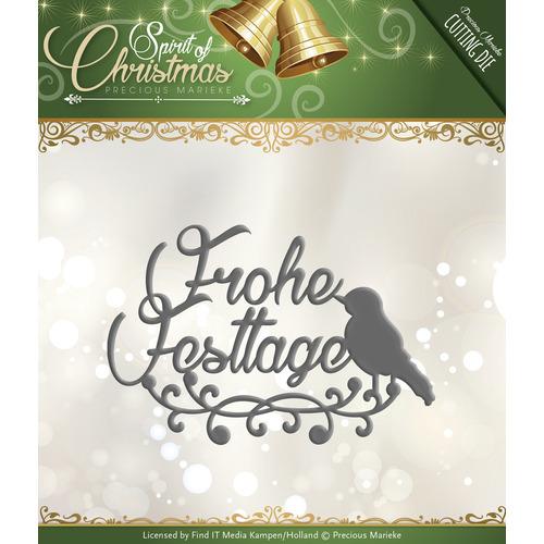 Die - Precious Marieke - Spirit of Christmas - Frohe Festtage
