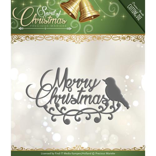 Die - Precious Marieke - Spirit of Christmas - Merry Christmas