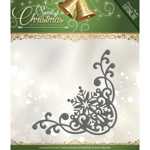 Die - Precious Marieke - Spirit of Christmas - Snowflake Corner