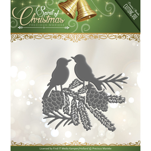 Die - Precious Marieke - Spirit of Christmas - Spirited Birds