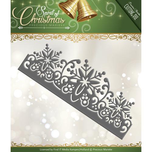 Die - Precious Marieke - Spirit of Christmas - Snowflake Border