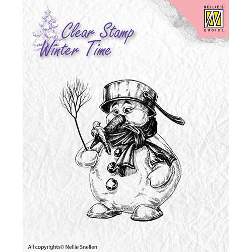Clear Stamps - Winter Time - Snowman