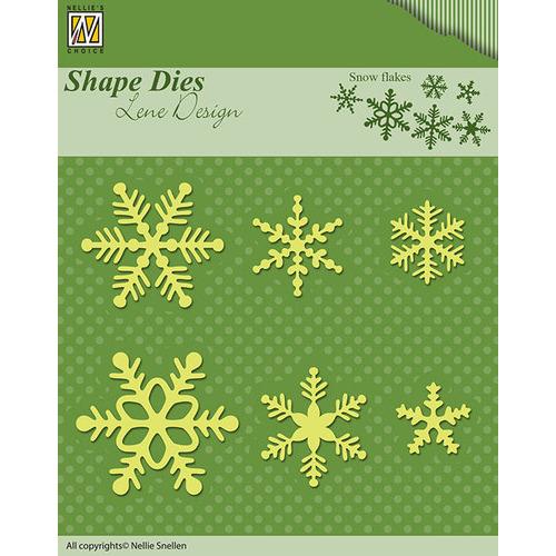 Shape Dies - Lene Design - Snowflakes