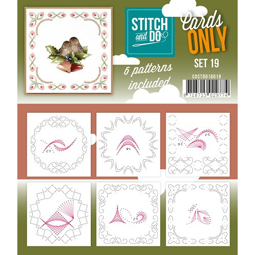 Stitch & Do - Cards only - Set 19