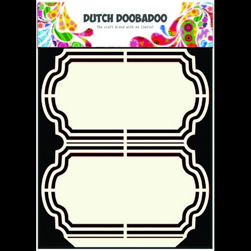 Dutch Doobadoo Dutch Shape Art frames Ornament A5 470.713.137 (08-16)